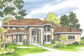 Mediterranean House Plans   Lucardo     Associated DesignsMediterranean House Plan   Lucardo     Front Elevation