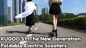 KUGOO S1: The <b>New</b> Generation <b>Foldable Electric Scooters</b> ...