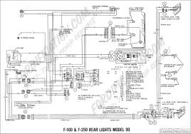 ford truck technical drawings and schematics section h wiring 1969 f 100 f 250 rear lights model 99 01