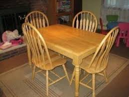 light kitchen table. 280natural oak kitchen table with insert and 4 chairs in light o