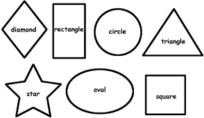 Small Picture Coloring Pages Shapes Coloring Sheets Google Search Shapes Week