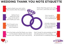 Wedding Thank You Etiquette Effie S Paper