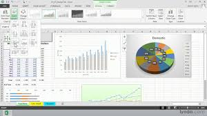 excel 2016 tutorial choosing a chart layout with the quick layout option lynda com you