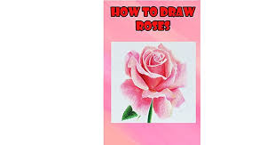 how to draw roses easy step by step