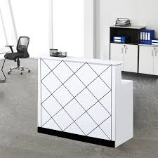 cheap modern furniture. Modern White Custom Design Cheap Office Furniture Wooden Reception Counter Table P