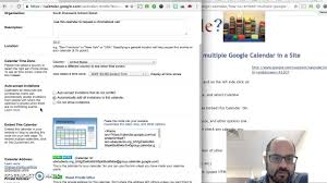 more calendars how to embed multiple google calendars youtube