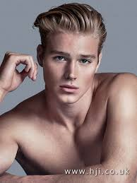 Slicked Back Hair Style 2016 slicked back blonde mens hairstyle hji 7100 by wearticles.com