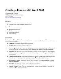create resume online free for fresher - Creating Resume Online