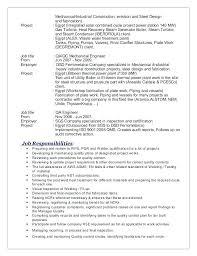 Sample Mechanical Engineer Resume Sample Mechanical Engineering