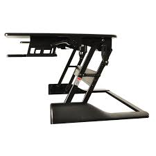 Conquer Ergonomic Adjustable-height Tabletop Standing Desk Workstation -  Free Shipping Today - Overstock.com - 19346382