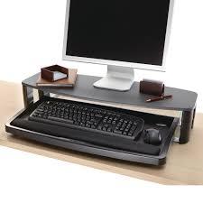 kensington over under desk keyboard drawer with smartfit system