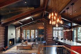 rustic interior lighting. view in gallery rustic lighting fixtures for a cabin interior e
