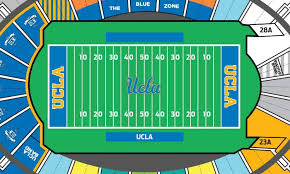 Rose Bowl Seating Chart Ucla Football The Wooden Athletic Fund Tickets