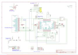 week2 pic18 schematic spi bus and icsp header aeste