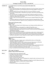 Sales Retention Resume Samples Velvet Jobs