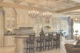 crystal chandeliers with coffered ceiling and white kitchen intended for kitchen island large crystal chandelier