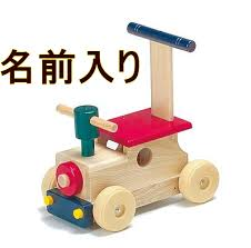 Riding toys \u0027カラフルロコ\u0027 made in Japan popular gifts to the press car WOODPAL: