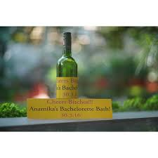 Wine Bottle Stickers Customized Bottle Stickers At Rs 9 Piece Bottle Sticker Id