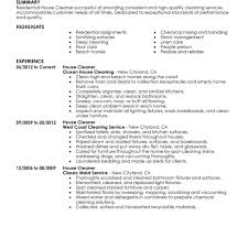 Cleaner Resume Template Cmt Sonabel Org