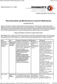 Statin Comparison Chart Pharmacist Letter Pharmacist S Letter Arb Conversion Imageletter Co