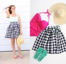 Skirt Patterns Interesting Pattern The Anywhere Skirt For Women Teens Girls MADE