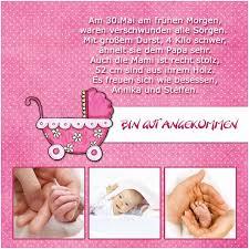 Spruch Dankeskarte Geburt Modisch Geburtskarten Dankeskarten Geburt