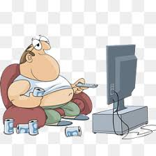 kids watching tv clipart. fat men watch tv, drink and family watching hand painted kids tv clipart