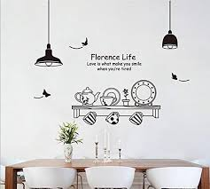 syga light plates cups wall stickers j msfy