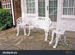 wrought iron outdoor furniture.  Outdoor Office Mesmerizing Rod Iron Patio Furniture 8 Stock Photo Formal Wrought  1315790 Rod Iron Patio Furniture Intended Outdoor