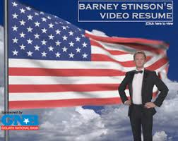 Barney Stinson's Video Resume Profile Photo