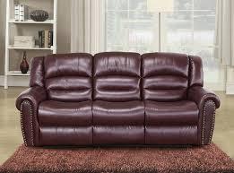 red leather reclining sofa. Full Size Of Sofa Design: 81c3gozzdjl Sl1500 Amazon Com Meridian Furniture Nailhead Reclining Burgundy Red Leather