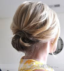 the chic updo image source the small things