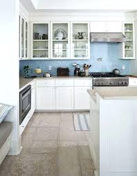 blue tile backsplash kitchen nice blue tile kitchen on sandy counters blue tile off white sandy