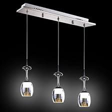 elegant the art of lighting. Fuloon Elegant Art Deco Wine Glass Shade LED Mini Pendant Light Max 9W With 3 Lights The Of Lighting E