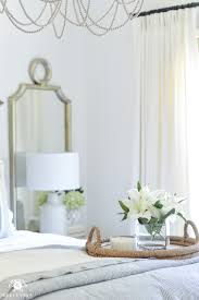 one room challenge blue and white guest bedroom reveal before and after makeover how to