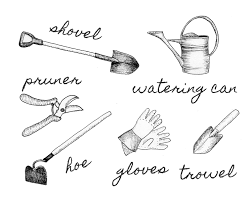 basic gardening tools. Beautiful Tools A Basic Gardening Tool Kit Should Include A Hoe Gloves Growl Pruner And Basic Gardening Tools Tootie U0026 Dotes