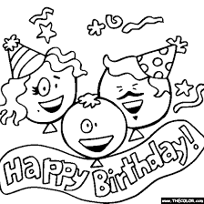 Small Picture happy birthday coloring cards birthday online coloring pages page