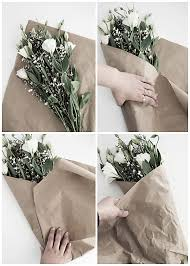 How To Wrap Flower Bouquet In Paper 3 Easy Ways To Wrap Flowers Homey Oh My