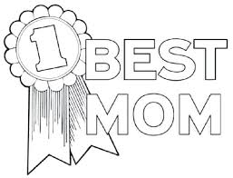 Best Mom Coloring Pages Sheets Of Parents Day Blue Bird We Love You