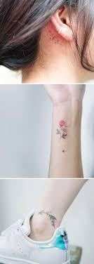 нереально нежные цветочные тату которые станут настоящим украшением