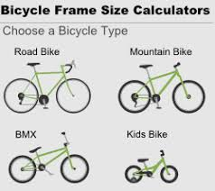 bicycle frame size calculators