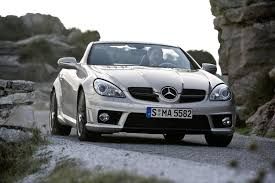 2009 Mercedes SLK 55 AMG Review - Top Speed