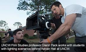 uncw s film studies program enjoys blockbuster success unc  uncw film study students practice filming different scenes around campus