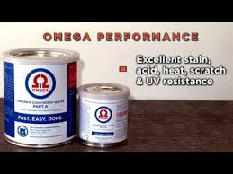omega concrete countertop sealer stain resistance performance
