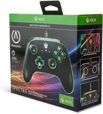 Xbox 360 Bottom Left Red Light Amazon Com Powera Spectra Enhanced Illuminated Wired