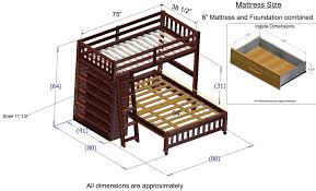 Bunk Bed Stairs Plans Bunk Beds Girls Loft Bed With Desk Diy Triple Bunk Bed Plans