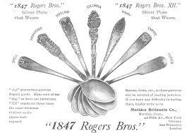 1847 Rogers Bros Silverware Patterns Interesting 48 Rogers Bros Silverplate Advertisement Gallery