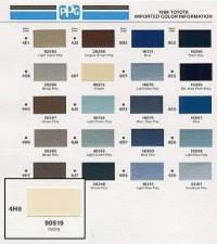 Max Meyer Paint Colour Chart Lechler Colour Chart Max Meyer To Ppg Paint Code