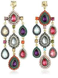 multi colored chandelier get ations a stone item multi colored stone teardrop chandelier earrings multi coloured