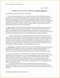 Letter Of Intent For Grant Proposal Template